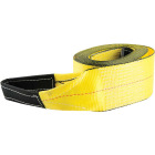 Erickson 3 In. x 30 Ft. 7500 Lb. Polyester Tow Strap with Loops, Yellow Image 1