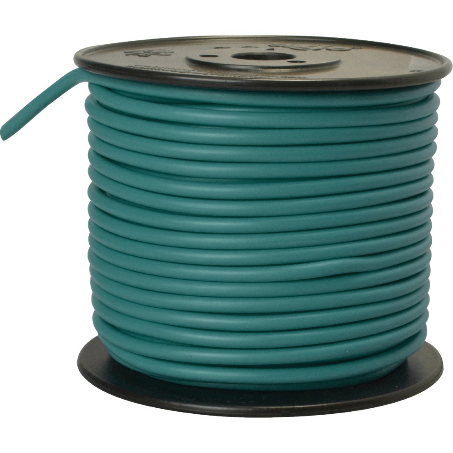 ROAD POWER 100 Ft. 10 Ga. PVC-Coated Primary Wire, Green Image 1