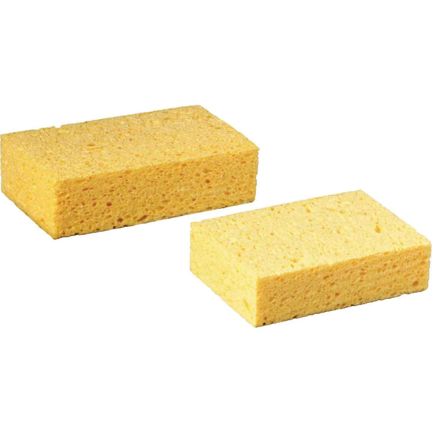 3M 7.5 In. x 4.3 In. Yellow Sponge Image 2