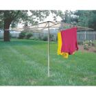 Household Essentials Sunline 72 In. x 72 In. 210 Ft. Drying Area Umbrella Style Clothes Dryer Image 3