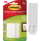 Command 5/8 In. x 2-1/4 In. White Interlocking Picture Hanger (8 Count) Image 1