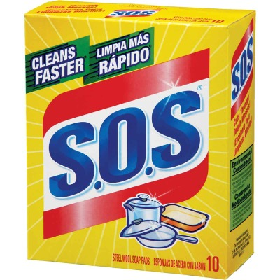 S.O.S. Soap Scouring Pad (10 Count)