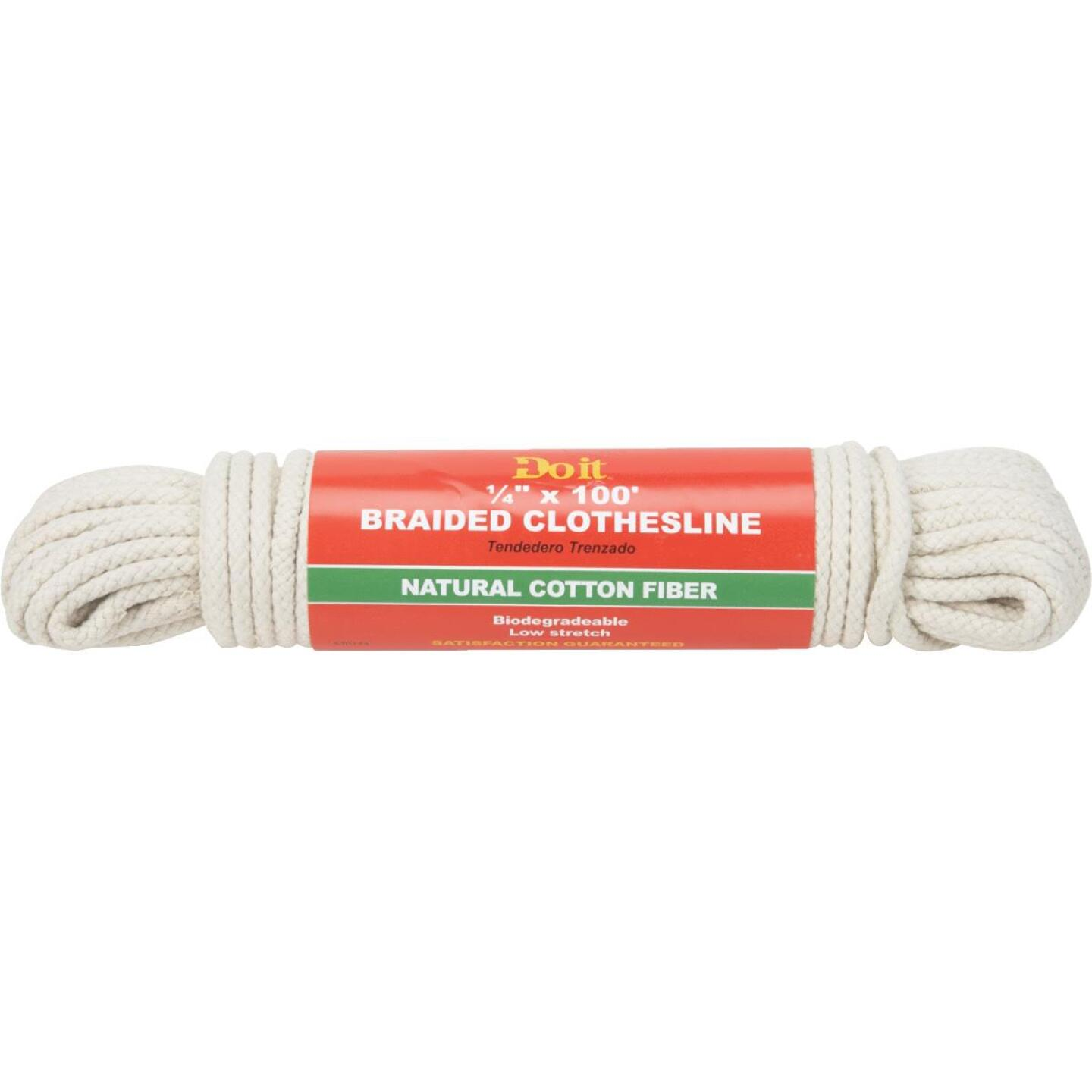 Do it 100 Ft. 1/4 In. Braided Clothesline Image 1