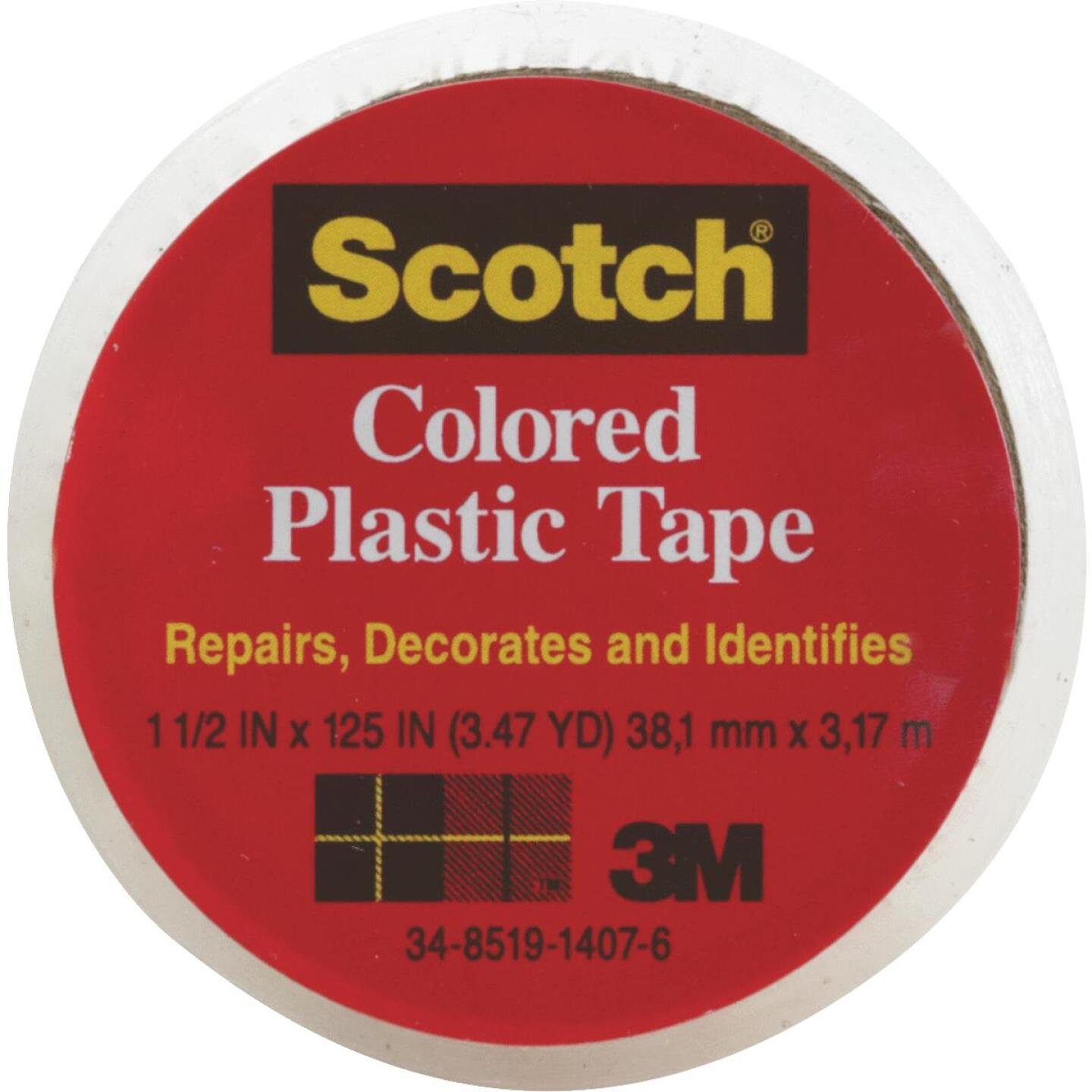 Scotch 1-1/2 In. Clear Plastic Tape Image 1