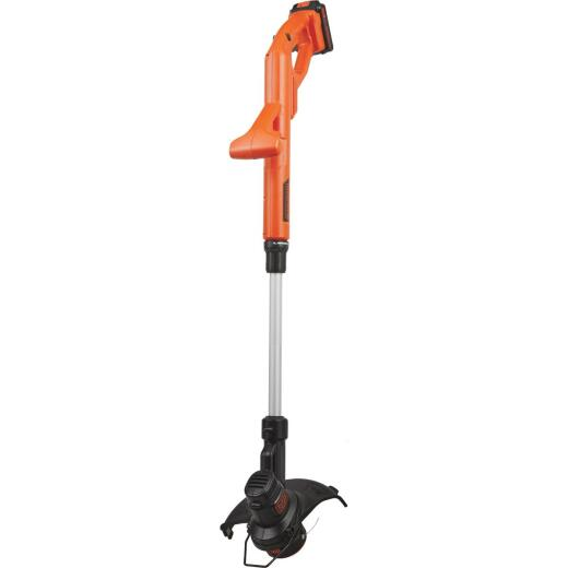 Black & Decker 20V MAX 10 In. Lithium Ion Straight Cordless String Trimmer/Edger