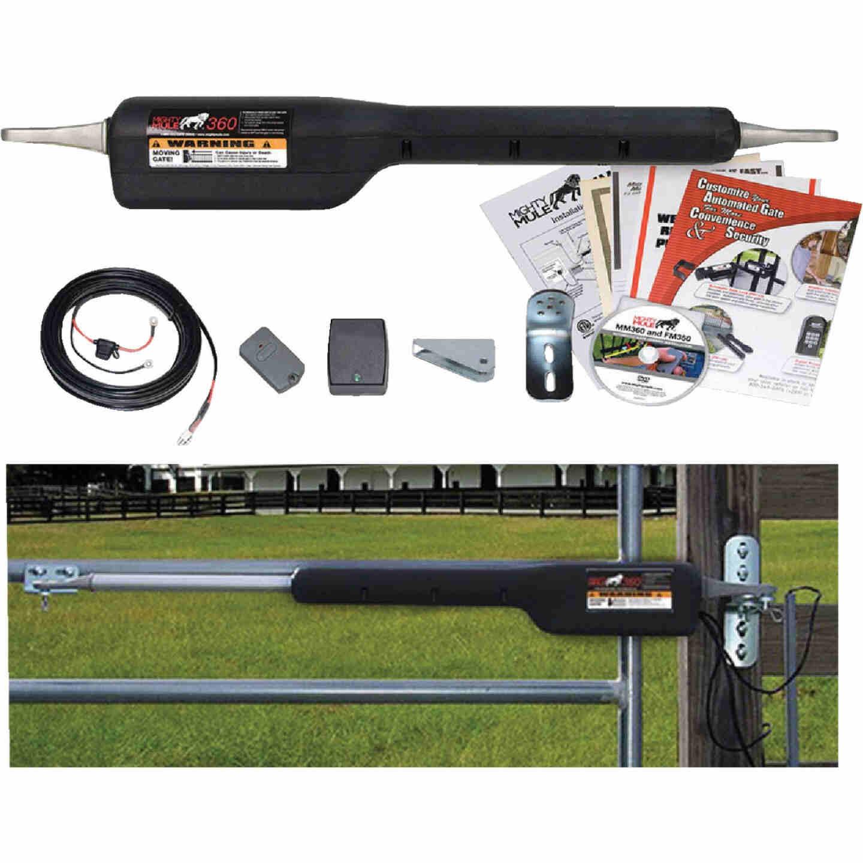Mighty Mule MM371W 16 Ft. 550 Lb. Smart Single Gate Opener Kit Image 1