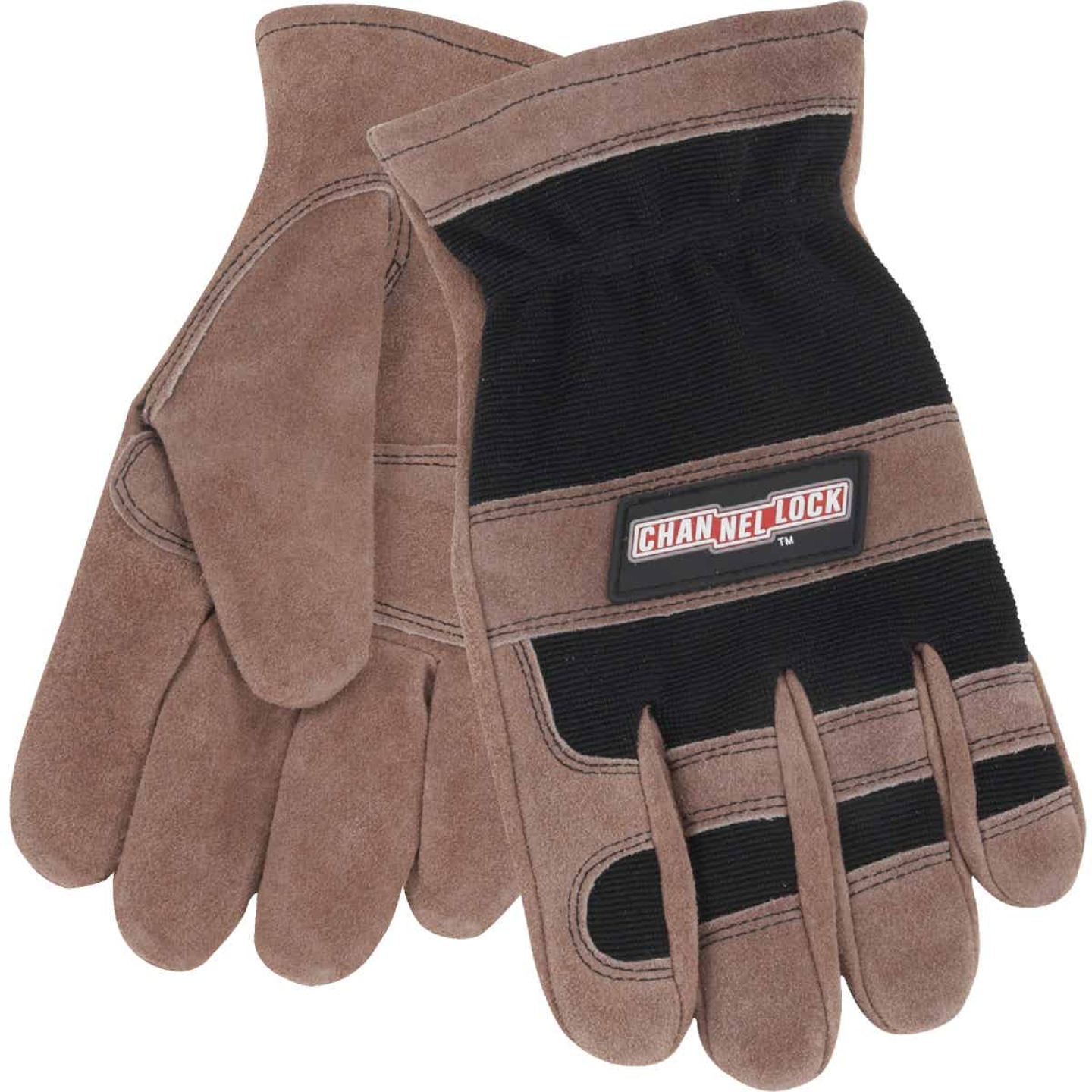 Channellock Men's Large Leather Work Glove Image 1