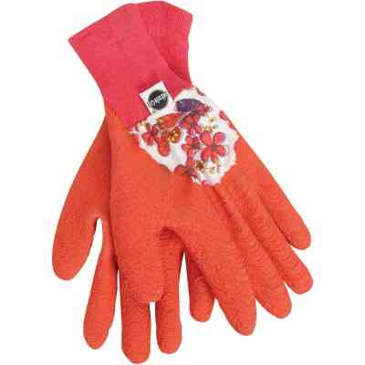 Miracle-Gro Women's Medium Latex Coated Garden Glove