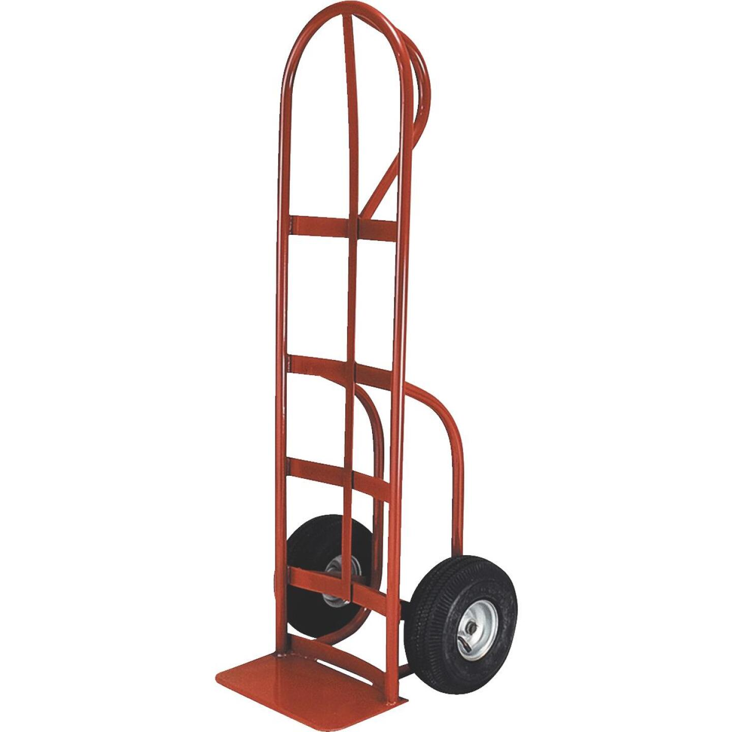 Milwaukee 800 Lb. Capacity P-Handle Hand Truck with Stair Climber Image 1