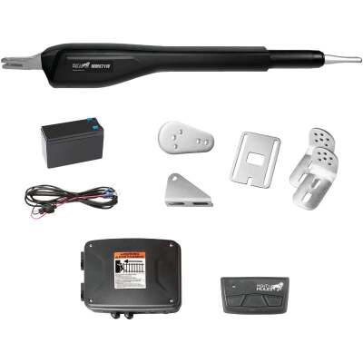 Mighty Mule MM71W 18 Ft. 850 Lb. Heavy-Duty Single Gate Opener Kit