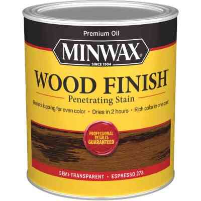 Minwax Wood Finish Penetrating Stain, Espresso, 1 Qt.