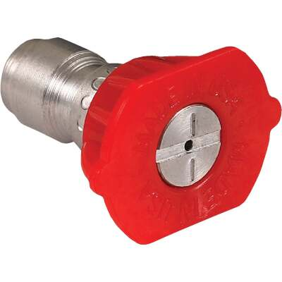 Mi-T-M 3.0mm 0 Degree Red Pressure Washer Spray Tip