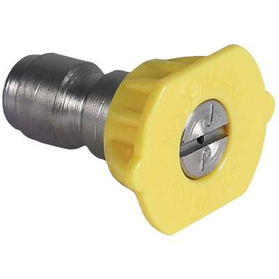 Mi-T-M 3.0mm 15 Degree Yellow Pressure Washer Spray Tip