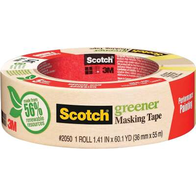 3M Scotch 1.41 x 60.1 Yd. General Painting Masking Tape