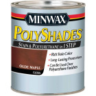 Minwax Polyshades 1 Qt. Gloss Stain & Finish Polyurethane In 1-Step, Olde Maple Image 1