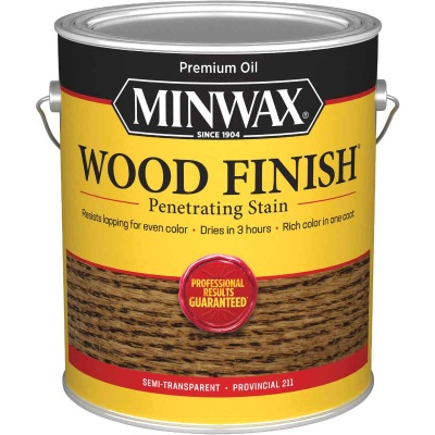 Minwax Wood Finish VOC Penetrating Stain, Provincial, 1 Gal.