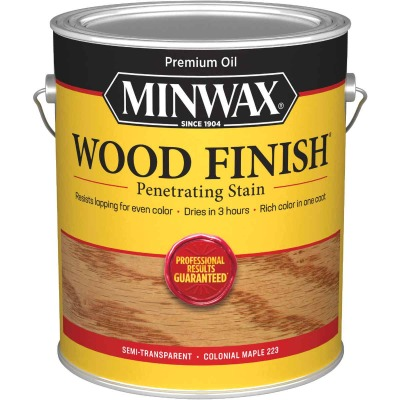 Minwax Wood Finish VOC Penetrating Stain, Colonial Maple, 1 Gal.