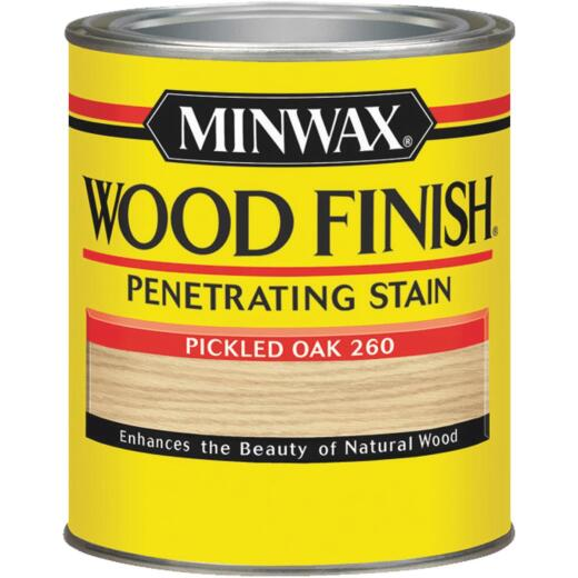 Minwax Wood Finish Penetrating Stain, Pickled Oak, 1/2 Pt.
