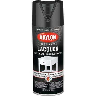 Krylon 12 Oz. Black Spray Lacquer