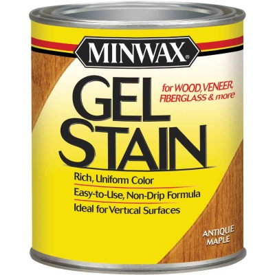 Minwax Gel Stain, Antique Maple, 1 Qt.