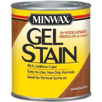 Minwax Gel Stain, Mahogany, 1 Qt.