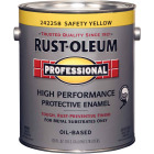 Rust-Oleum Gloss VOC for SCAQMD Professional Enamel, Yellow, 1 Gal. Image 1