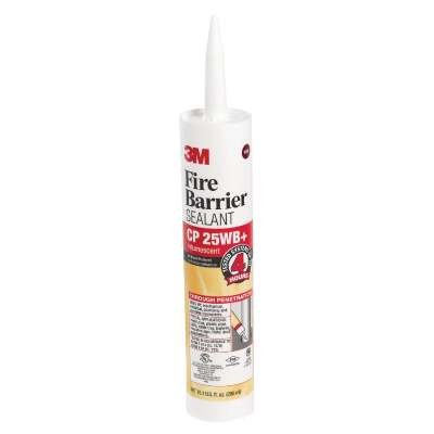 3M 10.1 Oz. 4 Hour Fire Barrier Sealant, Red