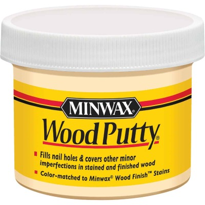 Minwax 3.75 Oz. Pickled Oak Wood Putty