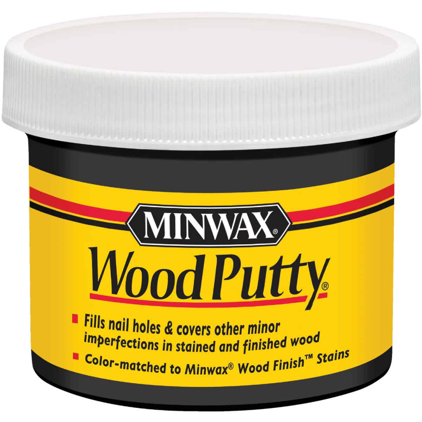 Minwax 3.75 Oz. Ebony Wood Putty Image 1