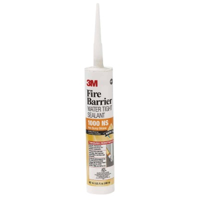 3M 10.1 Oz. Fire Barrier Water Tight Sealant, Gray