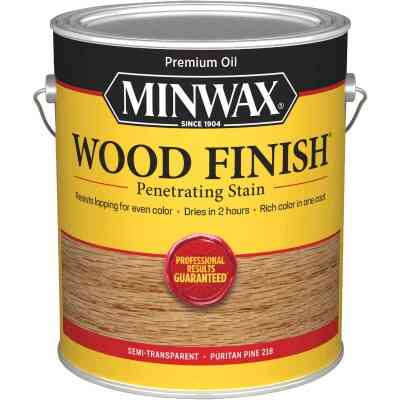 Minwax Wood Finish Penetrating Stain, Puritan Pine, 1 Gal.