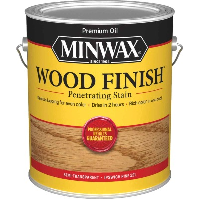 Minwax Wood Finish Penetrating Stain, Ipswich Pine, 1 Gal.