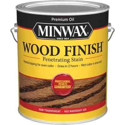 Minwax Wood Finish Penetrating Stain, Red Mahogany, 1 Gal.