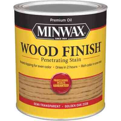 Minwax Wood Finish Penetrating Stain, Golden Oak, 1 Qt.