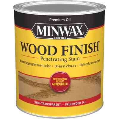 Minwax Wood Finish Penetrating Stain, Fruitwood, 1 Qt.
