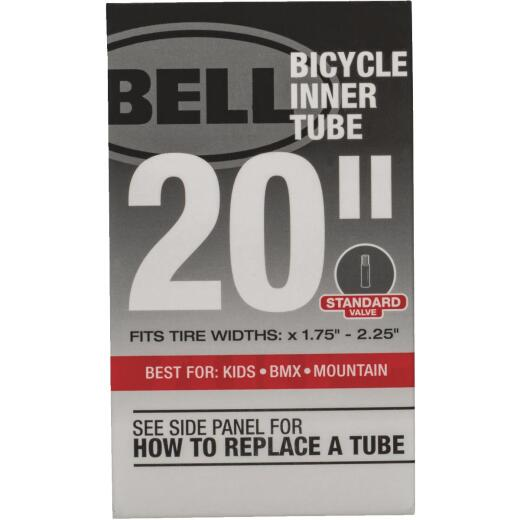 Bell 20 In. Standard Premium Quality Rubber Bicycle Tube