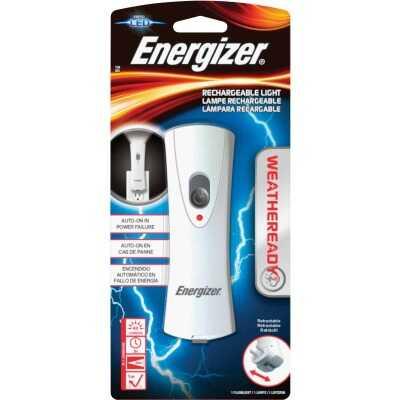 Energizer Weatheready LED Plastic Rechargeable Compact Flashlight