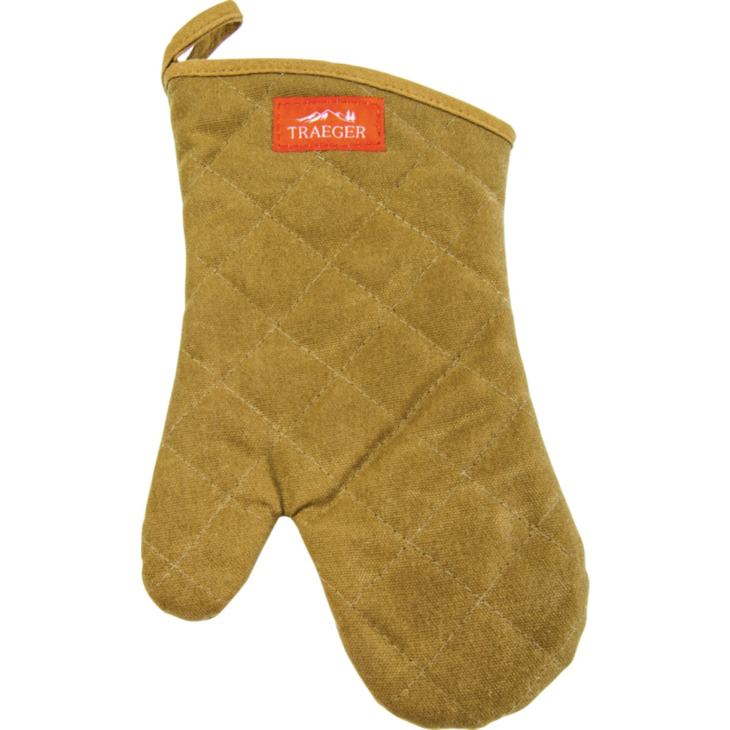 Traeger Brown Canvas Barbeque Mitt Image 1