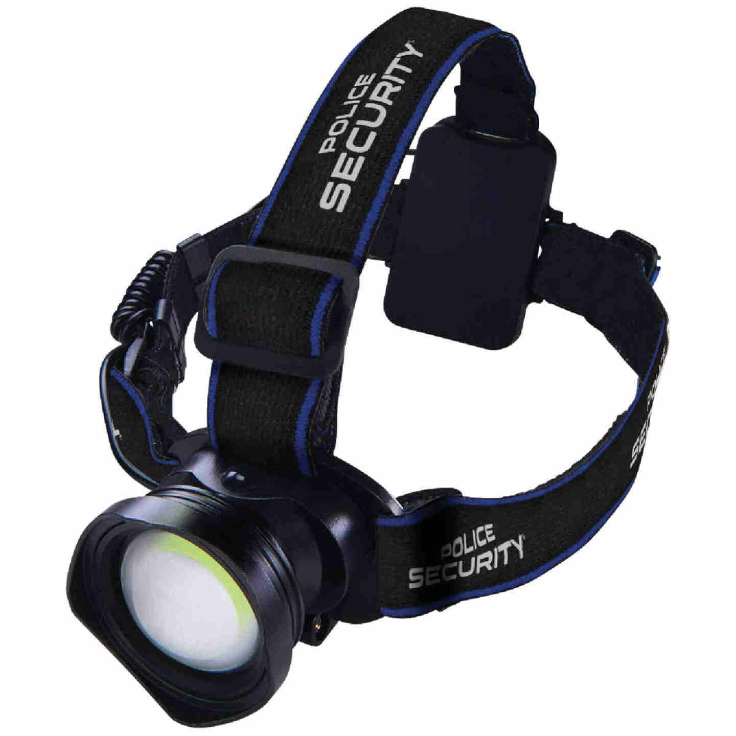Police Security Breakout 400 Lm. 3 AAA COB LED Headlamp Image 1