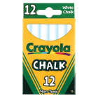 Crayola White Chalk (12-Count) Image 1